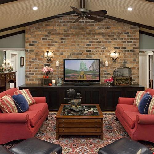 Pretty Pink Farmhouse   Starr Miller Interior Design
